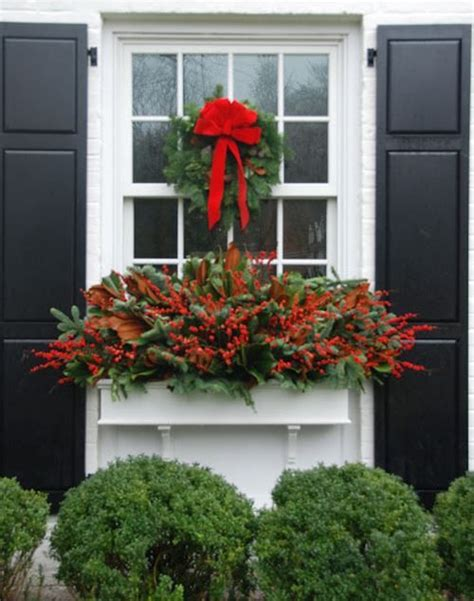 ideas for winter window boxes 25 unique winter window boxes ideas on