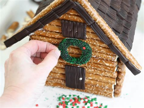 log cabin gingerbread house designs three easy gingerbread houses entertaining ideas party themes for every occasion