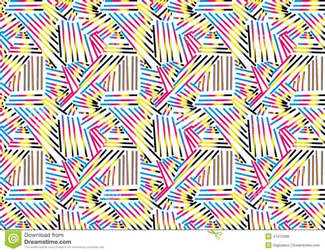 object pattern background abstract cmyk pattern background textures stock vector