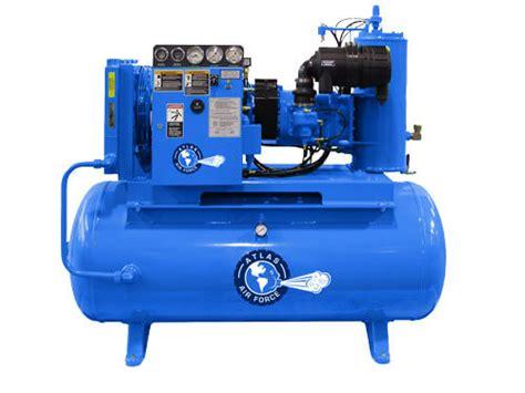 atlas 174 15 hp 120g rotary air compressor gses
