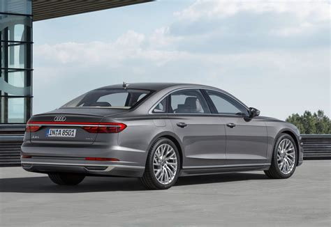 Audi A8 L 2018 audi a8 officially revealed performancedrive