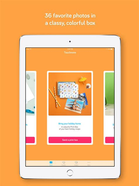 Best Gift Card App - touchnote the best postcards greeting cards app screenshot