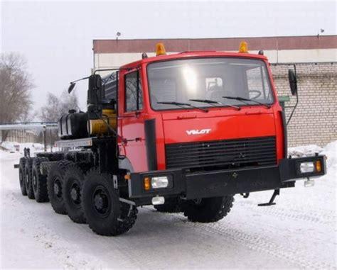 Шасси МЗКТ 7003 / Грузовые автомобили МЗКТ, КРАЗ, МАЗ