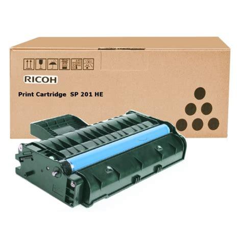 Toner Ricoh ricoh 407254 type sp 201 he toner black