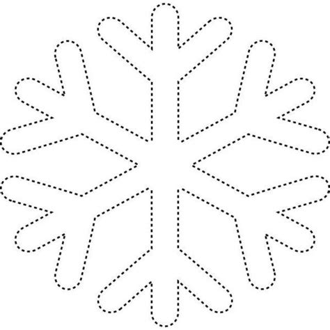 snowflake template frozen birthday