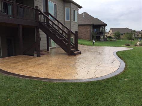 Cement Patio Ideas by Concrete Patio Design Ideas Noticiasefama