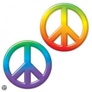 Bol com wanddecoratie peace teken 23 cm speelgoed