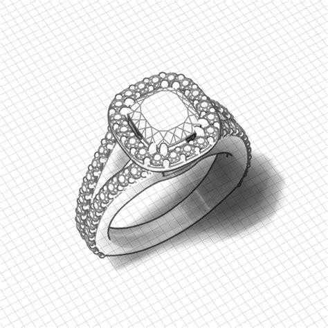 cushion engagement rings halo cushion halo engagement ring jewelry designs