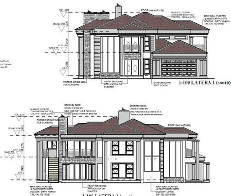 Architectural Plans For Sale by Modern House Plans For Sale R35 Polokwane