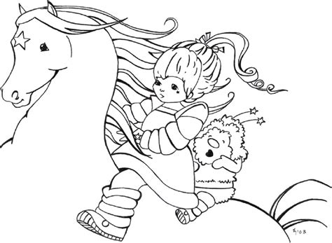Rainbow Bright Coloring Pages Rainbow Brite Coloring Pages Rainbow Brite Coloring Pages by Rainbow Bright Coloring Pages