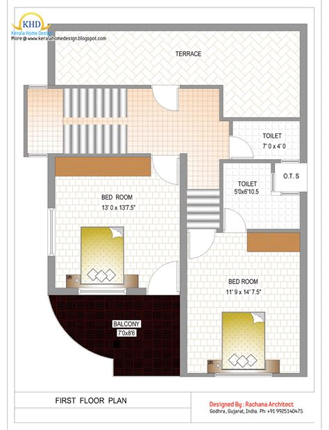 Duplex Floor Plans India duplex house plan and elevation 1770 sq ft home