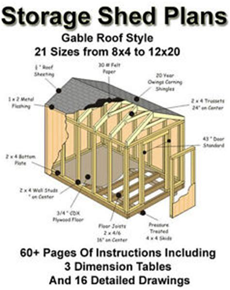 Shed Plans 10 X 14 by Shed Plans 14 X 32 Kinds Of Modern Shed Plans Shed