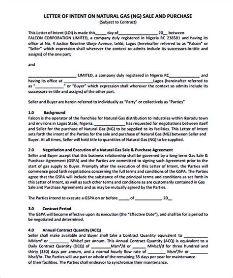 Letter Of Intent Sle Pharmacy 15 Letter Of Intent Template For Both