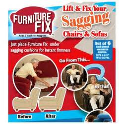 furniture fix seat cushion support kit as seen on tv