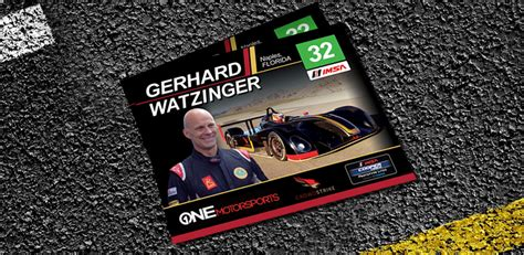 racing autograph card template watzinger racing autograph cards chp advertisingchp