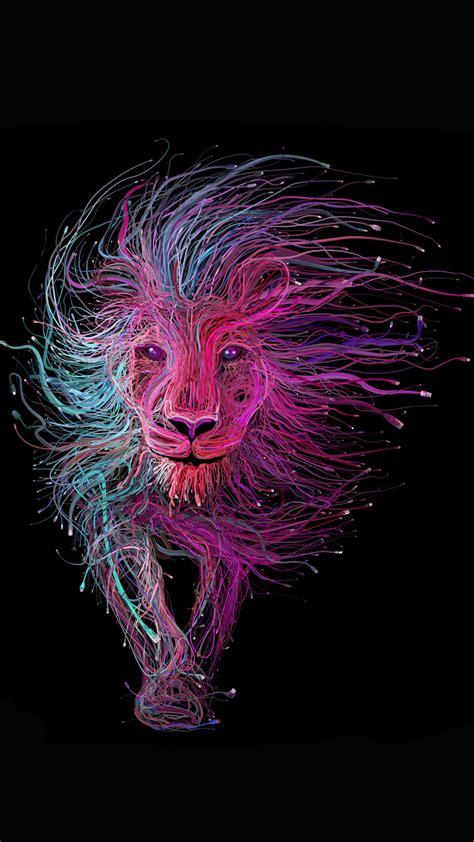 creative lion picture
