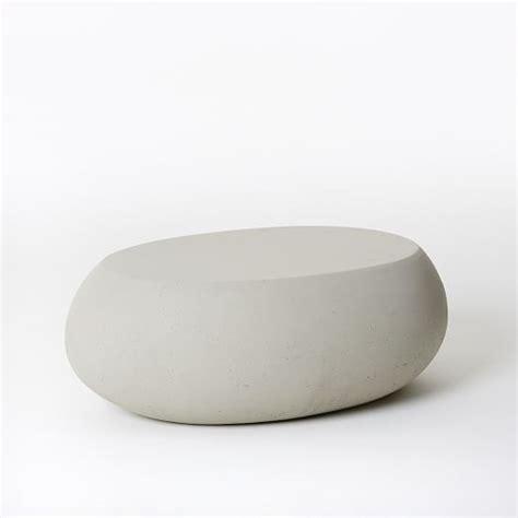 pebble coffee table west elm