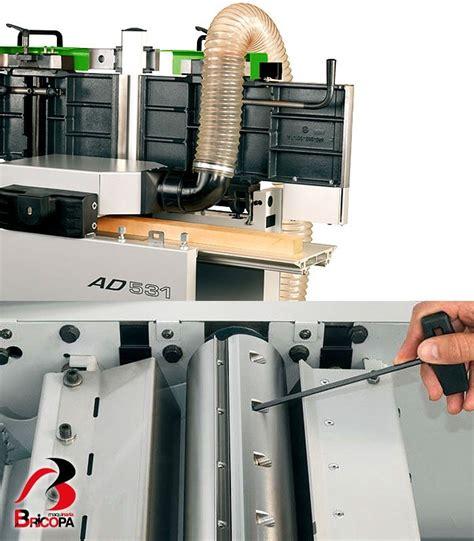 new woodworking machinery planer thicknesser ad 531 felder