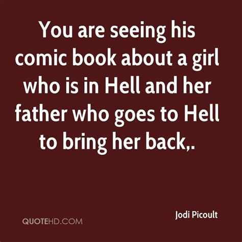 Is Hell By Various Authors jodi picoult quotes quotehd