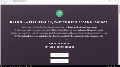 discord youtube music bot how to add a music bot to your discord server youtube