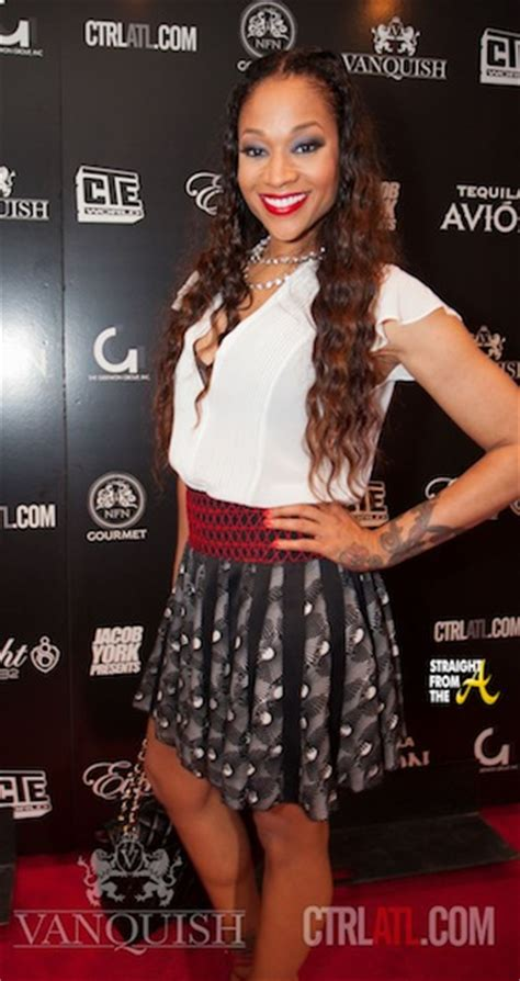 mimi faust hair line mimi faust erica dixon ariane davis support young jeezy