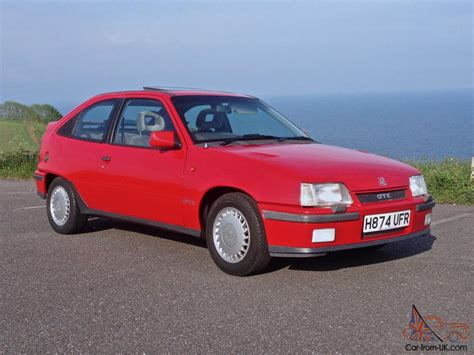 vauxhall astra gte 2 0 8v restored ready to show 80s