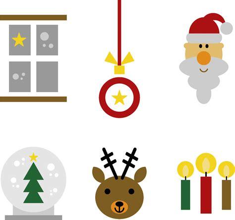 Chrismast Ikon clipart festive icons