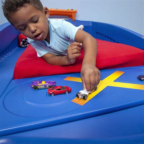 step 2 car bed wheels toddler to race car bed bed step2