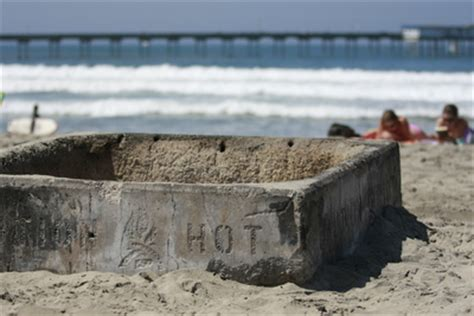 san diego beaches with pits san diego community news city douses plans to