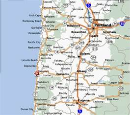 coast of oregon map map of oregon mapquest mapquest maps driving html autos