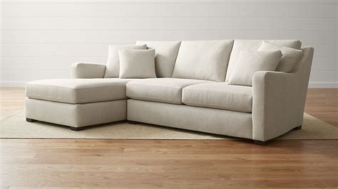 sectional sofa left arm chaise verano left arm beige sectional with chaise crate and barrel