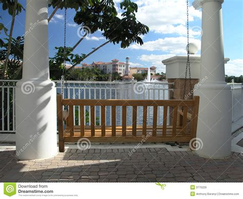 swing resort vacation resort swing trellis 2 stock photo image 3775220