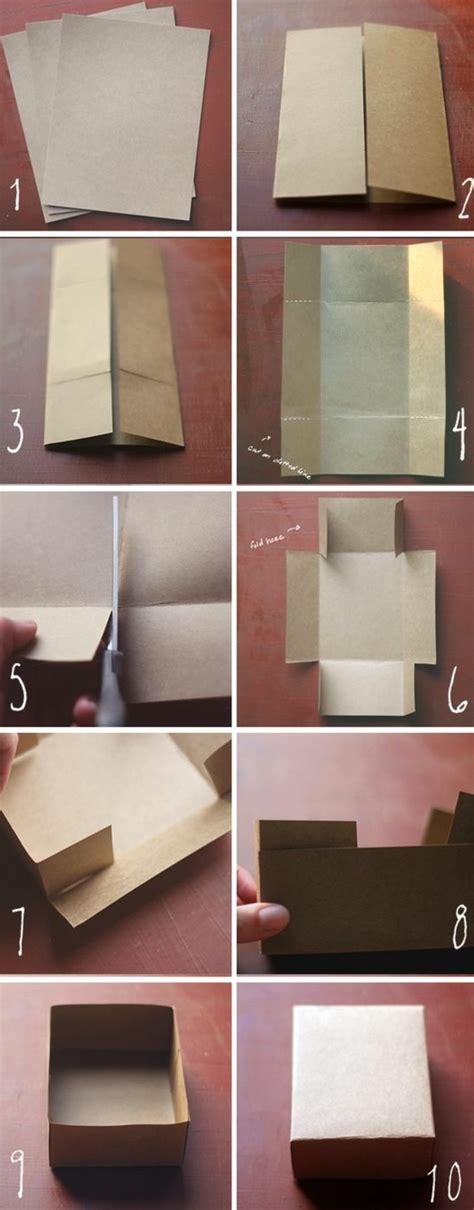 Fabriquer Des Boites De Rangement En by 1001 Id 233 Es Comment Faire Une Bo 238 Te En Papier