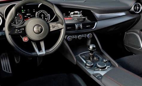 alfa romeo giulia interior 2017 alfa romeo giulia s interior images surface video