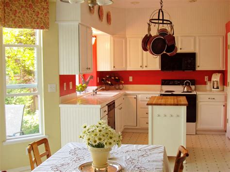 red kitchen white cabinets 10 kitchens that pop with color kitchen designs choose