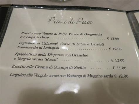 ristoro la dispensa menu foto di ristoro la dispensa roma tripadvisor