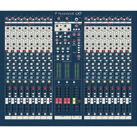 Mixer Lx7ii soundcraft lx7ii 16 171 mixer