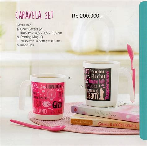 Tupperware Caravela Set caravela set tupperware indonesia promo terbaru