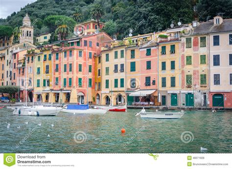 rugged pronunciation portofino editorial stock image image 48371609