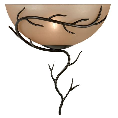 Kenroy Chandelier Hunter Kenroy 174 Twigs Wall Sconce Bronze Finish 124926