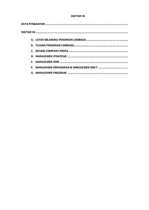 format laporan riset contoh propoal tv