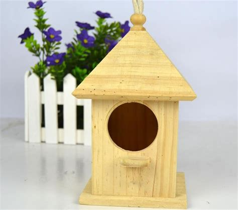 new unfinished wooden bird house wholesale buy bird