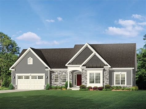 www eplans eplans ranch house plan deep garage for extra storage