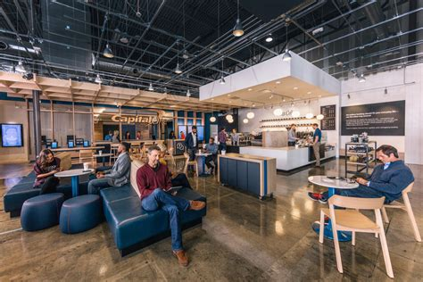 Capital One Chicago Office by Capital One Is Opening Coffee Shop And Bank Hybrids In