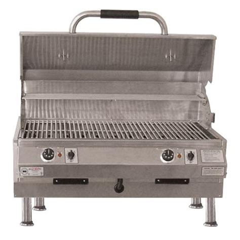top gas grills electri chef 4400 series 32in table top barbecue grill w