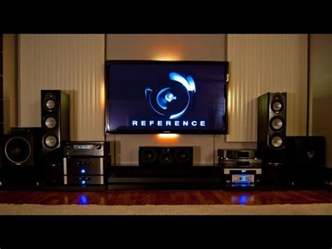 home theater setup  poor man youtube