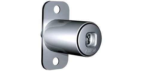 push button cabinet lock for wooden doors of430 abloy oy