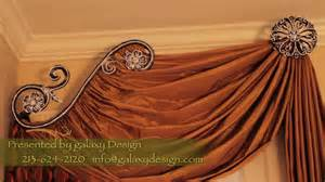 Valance Drapery Styles Video 30 Designer Window Treatments Luxurious Curtains