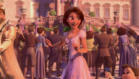 queen film ending tangled inspired wedding with disney princess bridesmaids