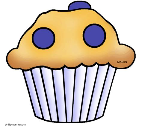 Free Muffin Clipart Images   ClipartFest   Muffin Images Clip Art, Muffin Cartoon Images, and